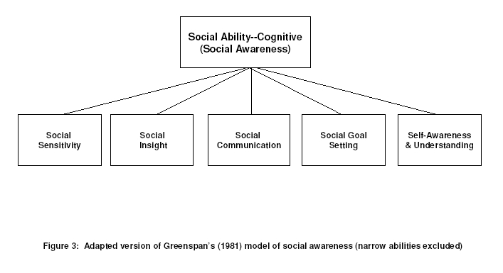 Social interpersonal abilities: Cognitive component